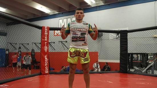 Jamil Silveira na MMA Masters