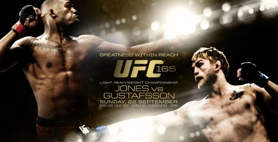 Pôster do UFC 165 - Jones x Gustafsson