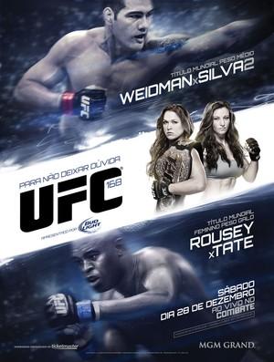 Pôster do UFC 168