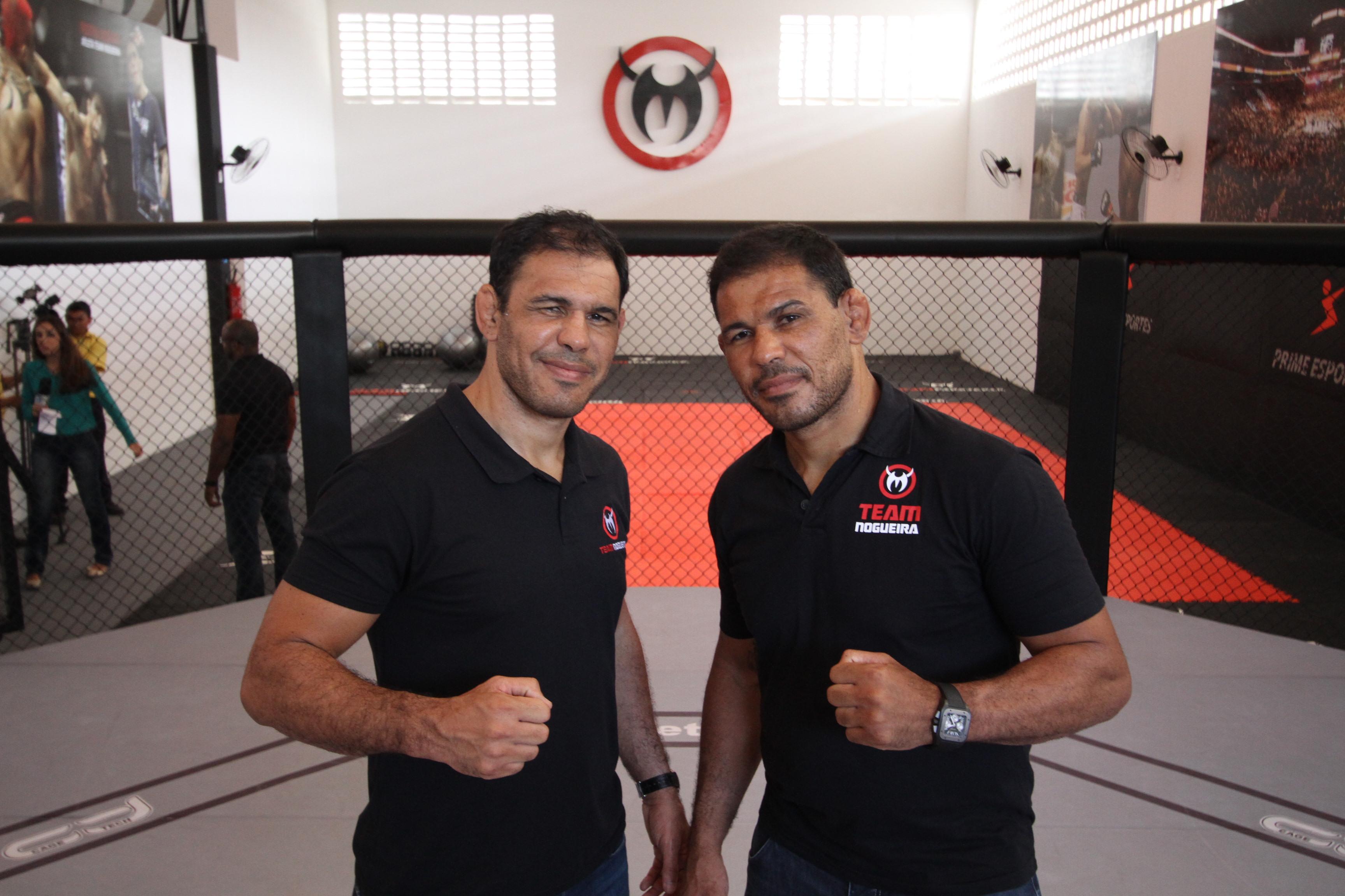 Os dois lutadores visitarão a sede da academia, que fica no bairro Águia Fria. Foto: Edimar Soares/O POVO