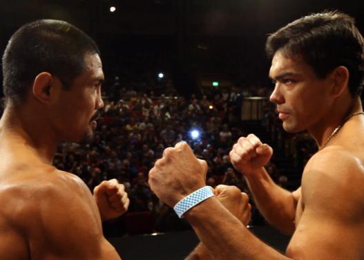 Encarada de Machida e Muñoz. Foto: UFC/Divulgação