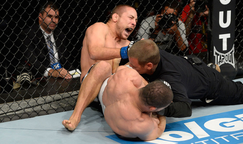 Cena fatídica que foi a gota d´água para a demissão de Toquinho. Foto: UFC/Divulgação