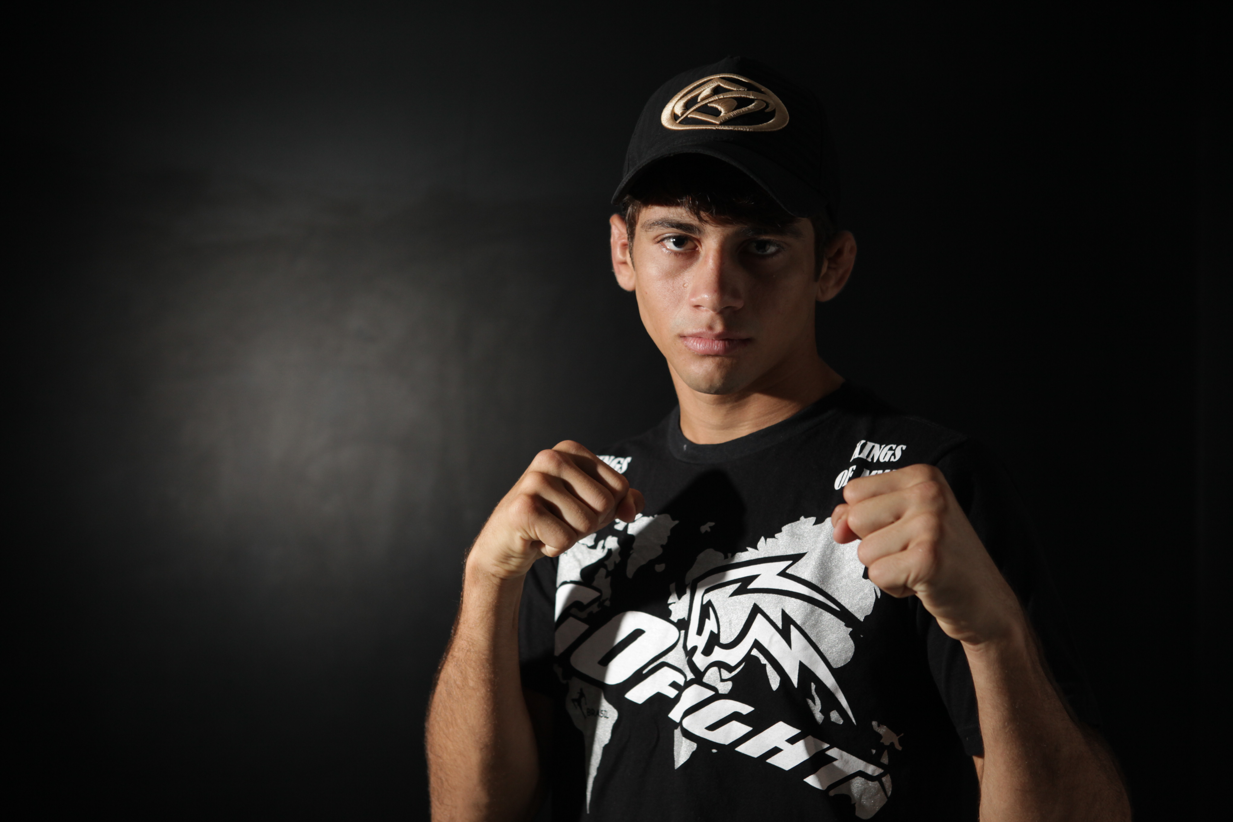 Alan Gomes tem oito lutas na carreira profissional. Foto: Sara Maia/O POVO