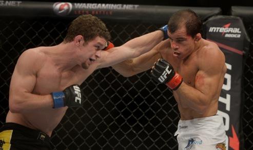 Sem Chance foi nocauteado no 3° round. Foto: UFC/Divulgação