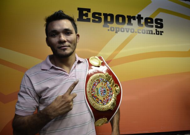 Joaquim Carneiro tem 28 anos e 28 lutas profissionais | Foto: Humberto Mota/O POVO