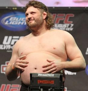 Roy Nelson é um dos atletas mais queridos pelos fãs do UFC. Foto: Divulgação