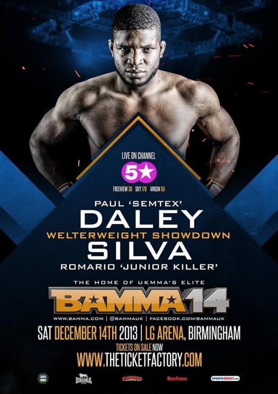 Pôster do evento destaca Paul Daley e o duelo contra Killer | Foto: divulgação