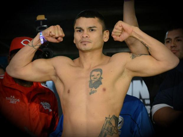 """Marcos """"El Chino"""" Maidana é o novo campeão. Foto: divulgação"""