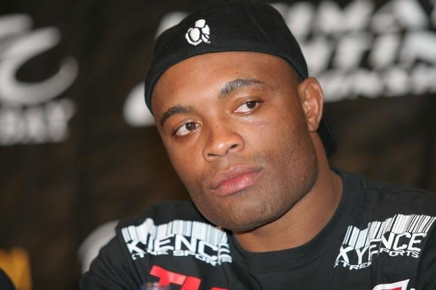 Anderson Silva responde à perguntas de fãs   Foto: Divulgação / UFC