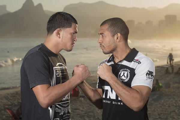 Luta entre Aldo e Pettis finalmente deve acontecer. Foto: UFC/Divulgação