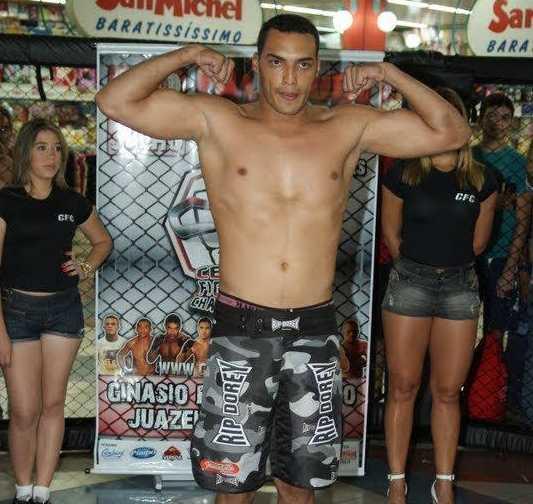 """Bruno """"Blindado"""" está no reality show do UFC. Foto: reprodução/Facebook"""