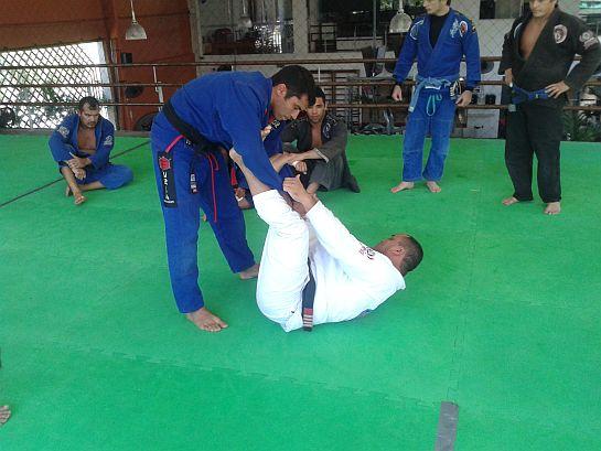 Líder da Nova União Ceará passou a posição na academia Ayo Fitness   Foto: Lucas Mota/O POVO