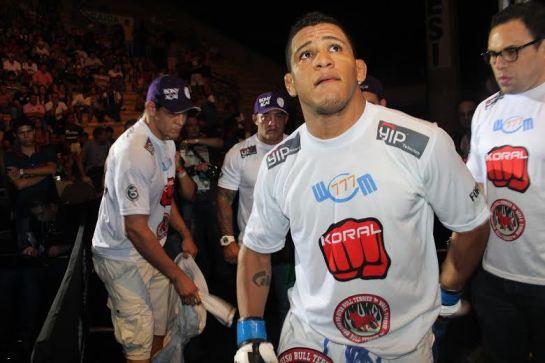 Durinho quer chegar no UFC. Foto: Leonardo Fabri