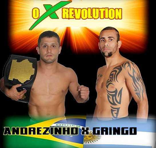 Andrezinho e Gringo fazem a luta principal da noite. Foto: divulgação