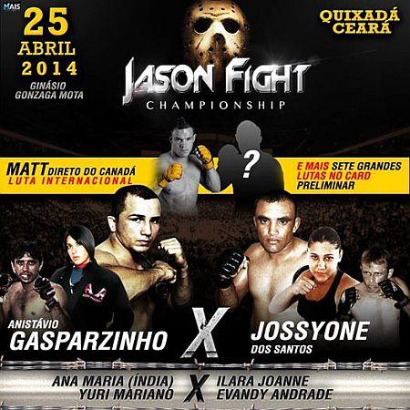 Pôster oficial do Jason Fight. Foto: reprodução