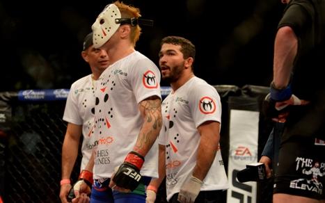 Jason se reabilitou da derrota sofrida para Jeremy Stephens, em novembro. Foto: UFC/Divulgação
