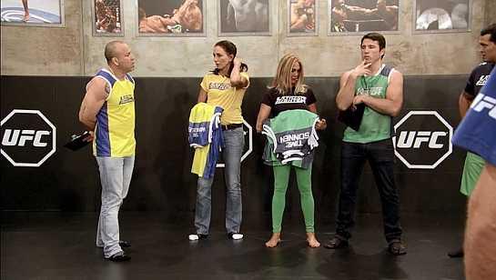 Wanderlei Silva e Chael Sonnen veio ao Brasil para as gravações do TUF Brasil 3. Foto: reprodução/TUF Brasil 3
