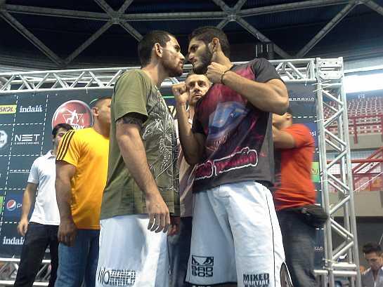 Danilo Mota (esquerda) é uma das atrações do evento. Foto: Lucas Mota