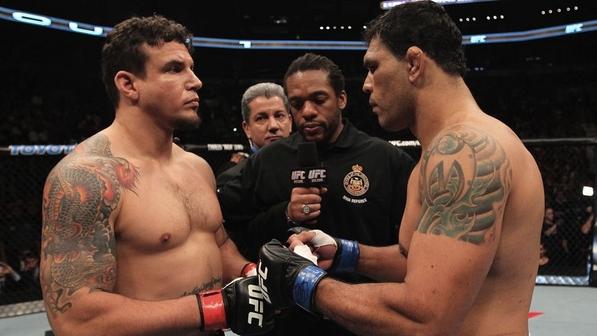 Minotauro e Mir já se enfrentaram duas vezes. Foto: UFC/Divulgação