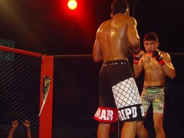 Higor venceu numa luta muito acirrada. Foto: Bruno Balacó/O POVO