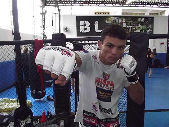 Jamil Silveira tem um cartel recheado de 57 lutas. Foto: Divulgação