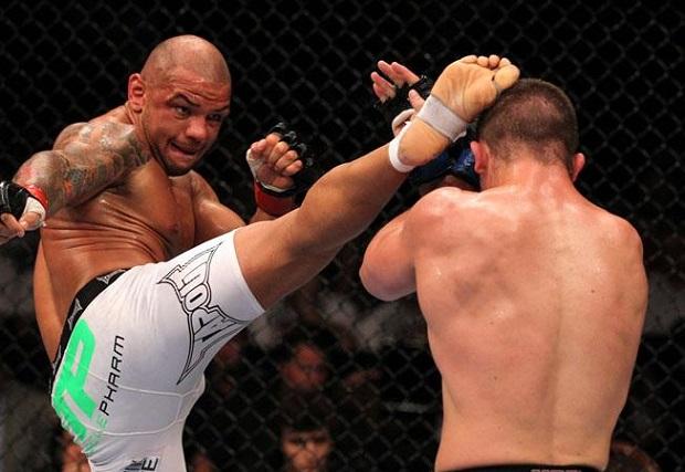 Pitbull venceu por decisão unânime sua última luta, em abril de 2014. Foto: UFC/Divulgação