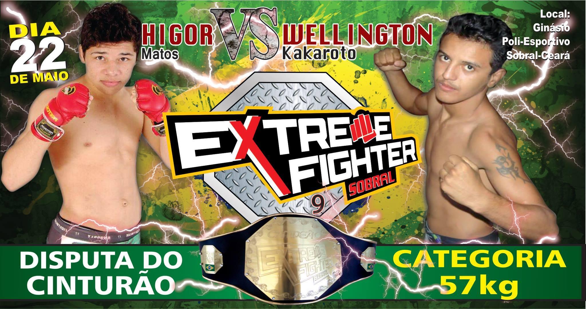 Dois jovens promissores lutando pelo cinturão. Foto: Divulgação