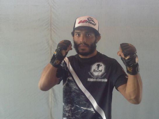 Abraão Amorim faz luta co-principal do Sobral Extreme Fighter | Foto: Lucas Mota/O POVO
