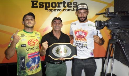 Andrezinho (esquerdA) e Pimba (direita) representam o Brasil nos duelos contra os argentinos. Foto: Bruno Balacó/O POVO