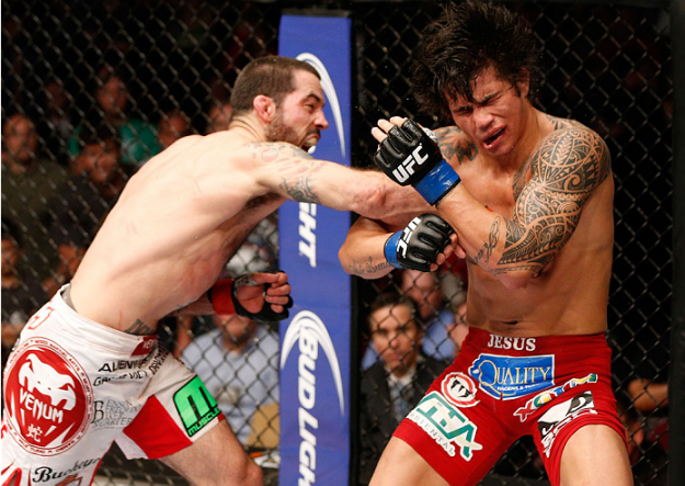 Matt Brown dominou Erick Silva no UFC Fight Night 40 | Foto: reprodução/UFC Brasil/Twitter