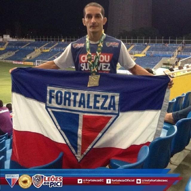 Tiago Marques é patrocinado pelo Fortaleza - Leões do Pici. Foto: Arquivo Pessoal