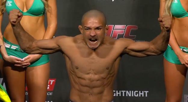 Diego bateu o peso sem dificuldades. Foto: UFC/Divulgação