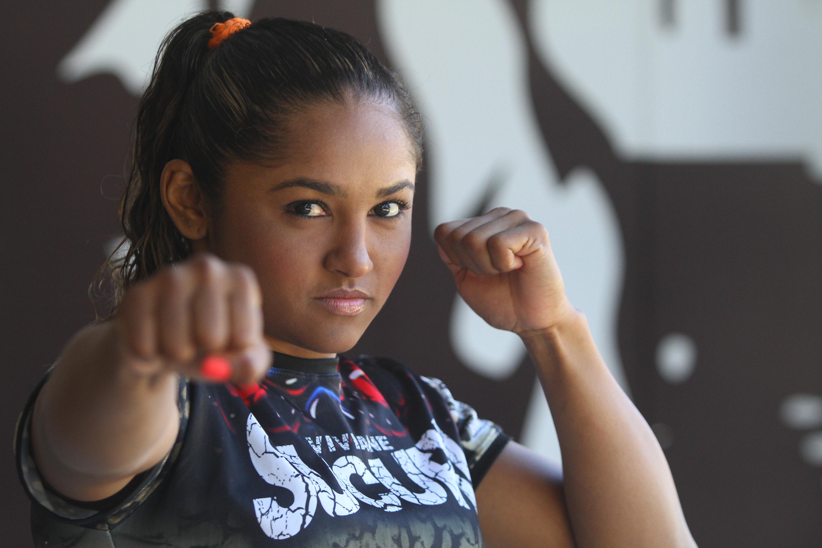 Viviane Sucuri vive grande fase e está invicta no MMA profissional. Foto: Edimar Soares/O POVO