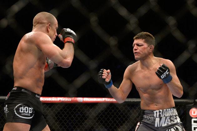Diaz tem um estilo provocador. Foto: UFC/Divulgação