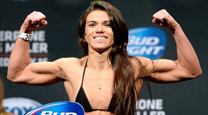 Gadelha está invicta no MMA. Foto: UFC/Divulgação