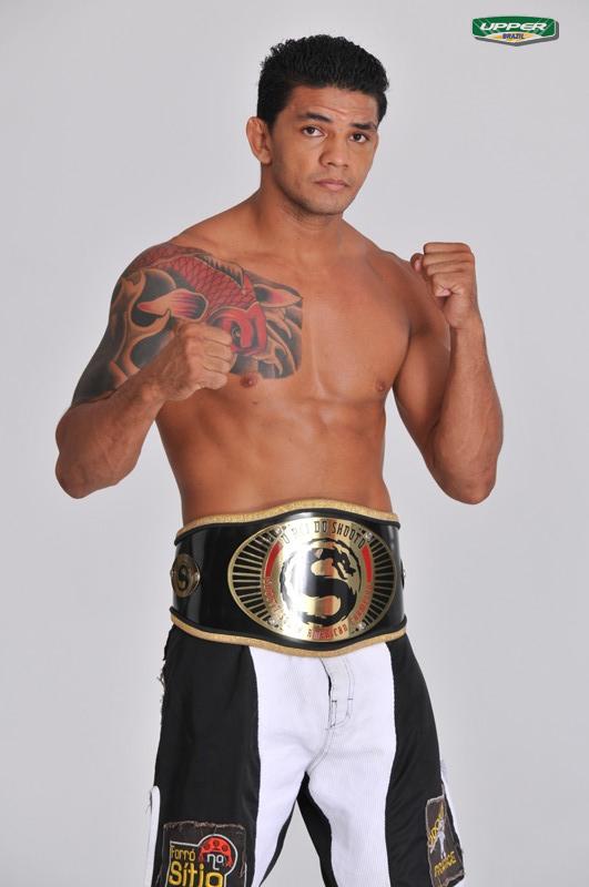 Carlos Índio já foi campeão do Shooto foi em outra categoria. Foto: Divulgação