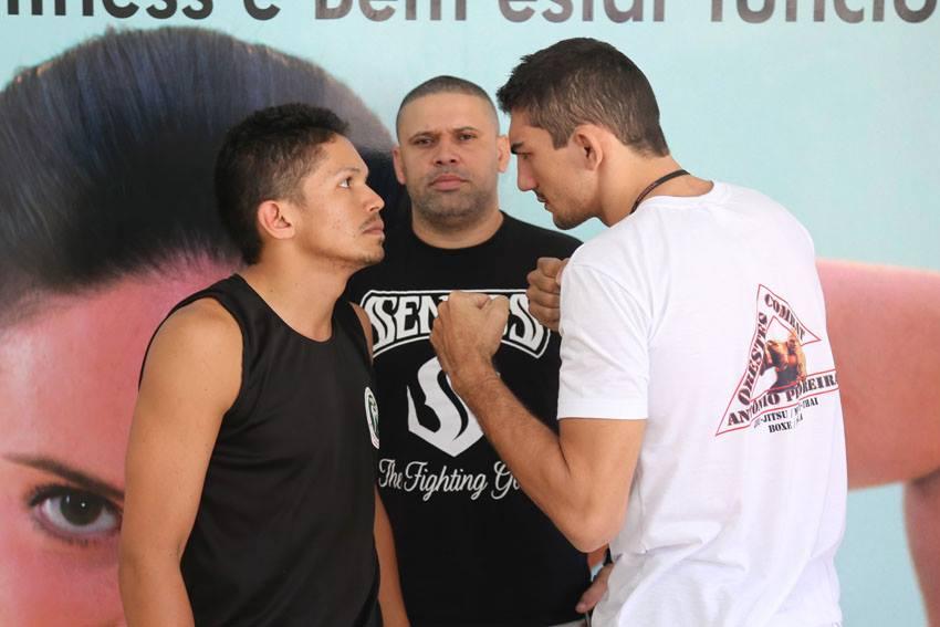 Josélio Pitbull (esquerda) x Antônio Pedreira
