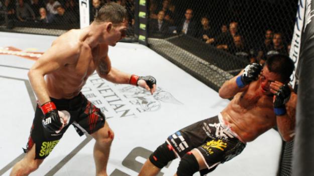 Bisping não tomou conhecimento de Le. Foto: UFC/Divulgação