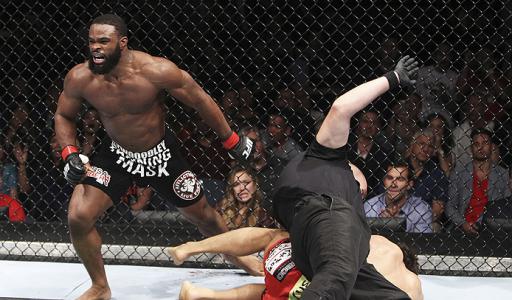 Tyron Woodley conquistou uma grande vitória. Foto: UFC/Divulgação