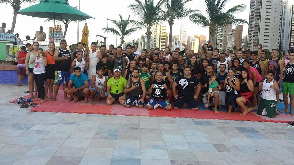 Jovens e instrutores de várias modalidades compareceram ao encontro. Foto: Mardone Sampaio