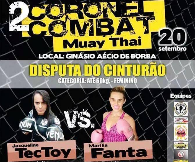 Luta principal será entre Fanta x Tec Toy. Foto: Divulgação