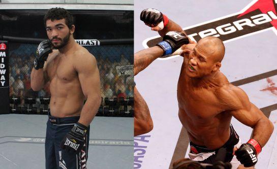 No UFC, Jaccaré faz a luta principal. No Bellator, Patrício Pitbull disputa cinturão