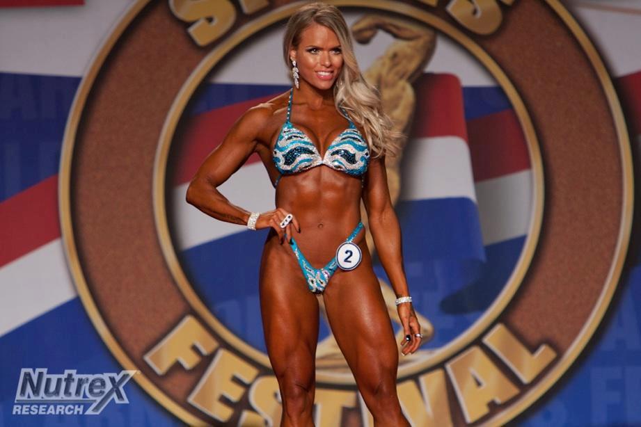 Larissa Reis é uma das pioneiras no Body Fitness brasileiro. Foto: Divulgação