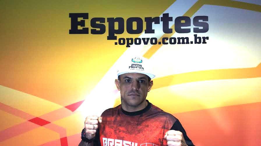 Thiago Maia parte para sua 5ª luta no MMA. Foto: Gutemberg Figueiredo/O POVO
