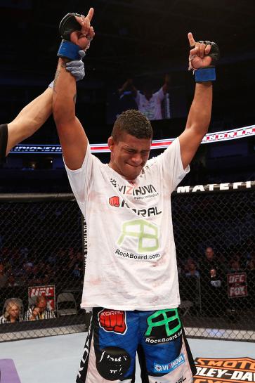 Durinho estreou no UFC com vitória | Foto: UFC/Divulgação