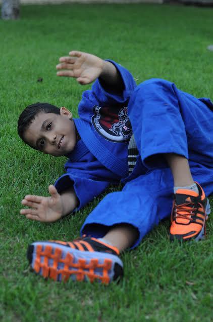 Jiu-jitsu fez Bruninho superar a timidez.