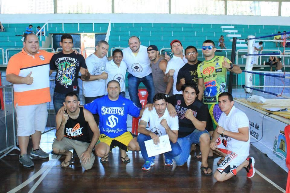 Líderes de equipes ao término da competição. Foto: Arquivo Pessoal