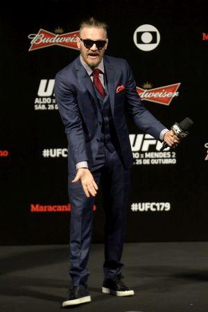 Conor McGregor no UFC 179 | Foto: Alexandre Loureiro/Inovafoto