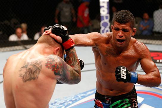 Durinho estreou no UFC com vitória sobre sueco  | Foto: UFC/Divulgação