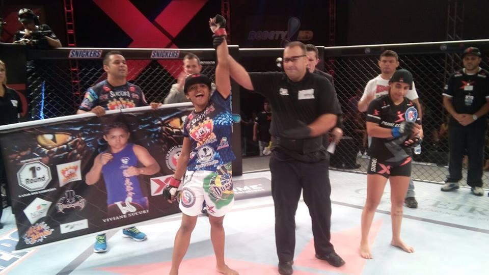 Sucuri conquistou a 7ª vitória de sua carreira em 7 lutas. Foto: Arquivo Pessoal